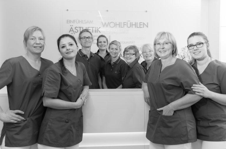 Das Team der Zahnarzt Praxis Knospe