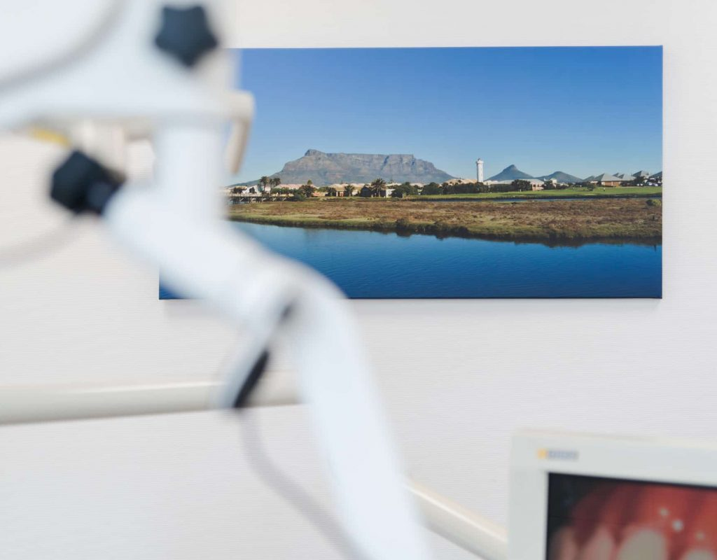 Landschaftsbild im Behandlungsraum